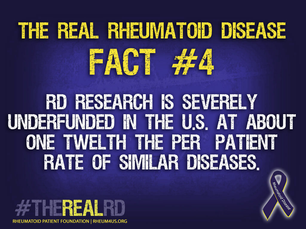 RA Research is severely underfunded in the U.S.